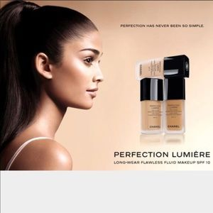 Chanel Perfection Lumiere flawless foundation Auth